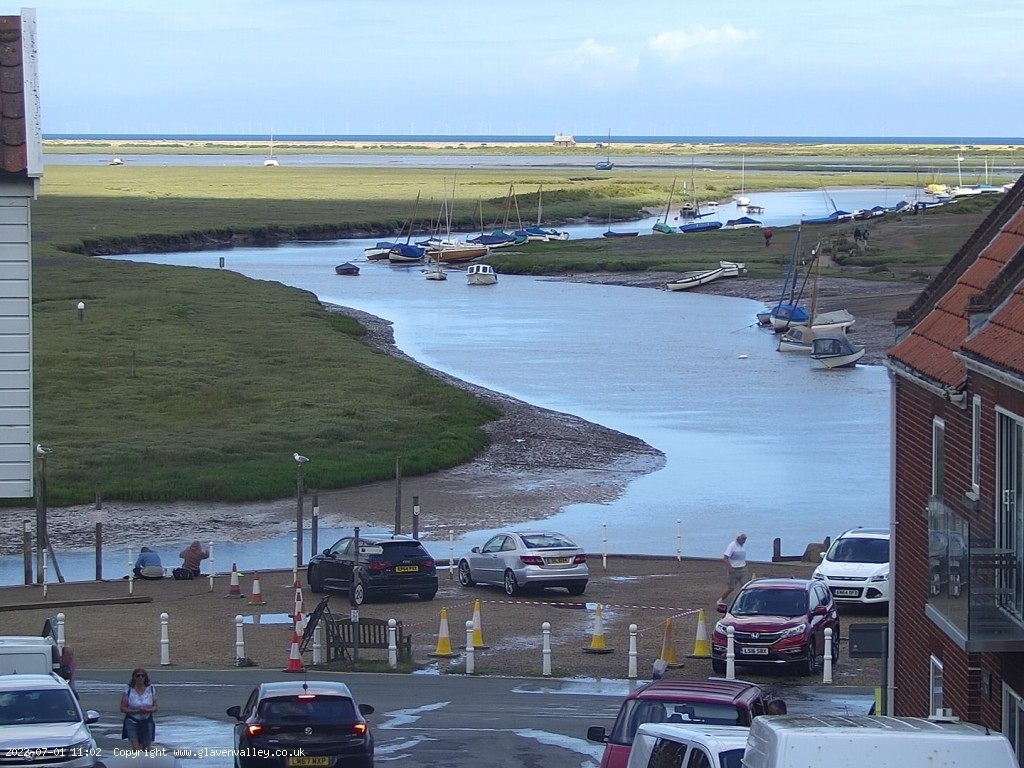View from our Blakeney webcam.